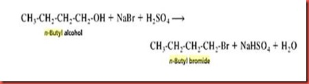 preparation of 1 bromobutane from 1 butanol by sn2 reaction 2 nucleophilic aliphatic substitution nucleophile leaving group nu cr r r x  c r nu r  substitution in synthesis  (r)-2-bromobutane (s)-2-butanol  n  1 vs s n 2 reactions type of alkyl halide sn2 sn1 methyl ch3x favored.